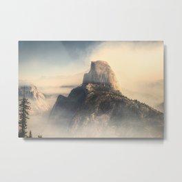 HALF DOME / STATUS POST FIRE Metal Print