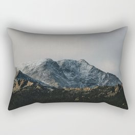 The Start of Winter Rectangular Pillow