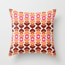 All Hearts Throw Pillow
