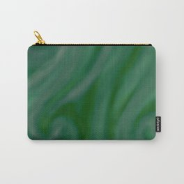 Green SWIRL Carry-All Pouch