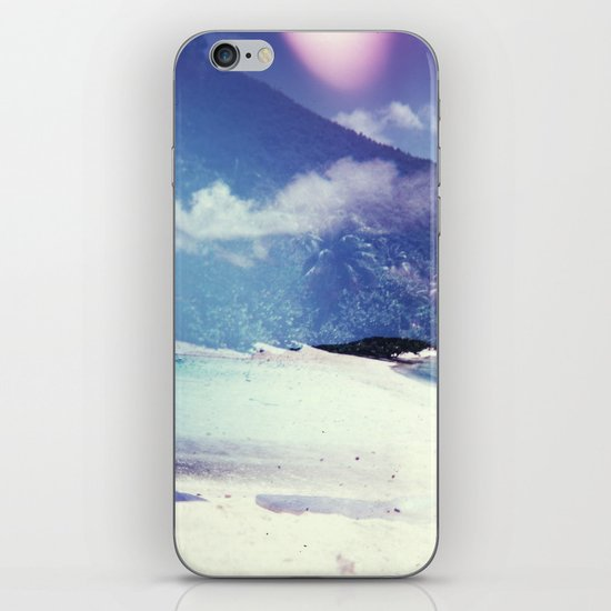 St John, USVI Multiple Exposure II iPhone & iPod Skin