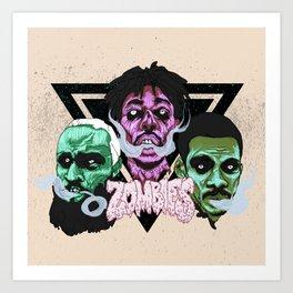 Flatbush Zombies Art Print
