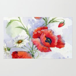 Poppies 08 Rug