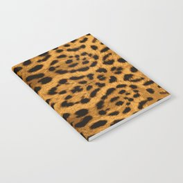 Baesic Leopard Print Notebook
