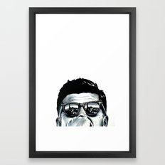 JFK Framed Art Print