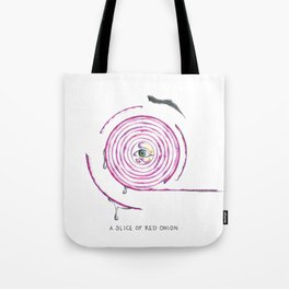 A Red Onion Tote Bag