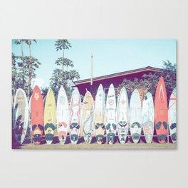 Surf Time III Canvas Print