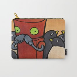 Robot - You Make Me Laugh Carry-All Pouch