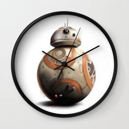 BB-8 by dana alfonso Wall Clock