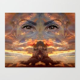 BERRIN and the POWER ANIMAL Canvas Print