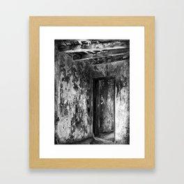 Klein Curaçao (Little Curacao) Lighthouse (interior) Framed Art Print