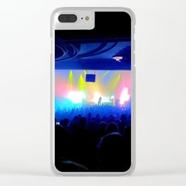 Back Row Tickets Clear iPhone Case