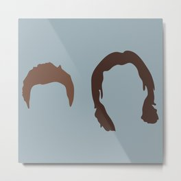 Supernatural Sam and Dean, ya'll Metal Print