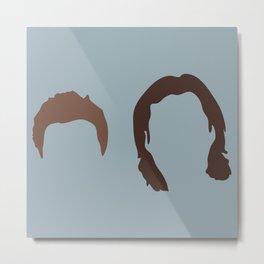 Supernatural Sam and Dean, ya'll Metal Print