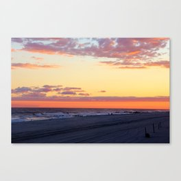 Soothing Sunset Canvas Print