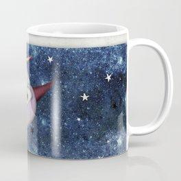 Birds following the stars Coffee Mug
