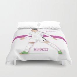 Cristiano Ronaldo Illustration Duvet Cover