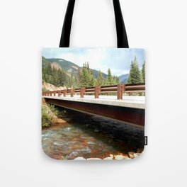 Bridge Over Mineral Creek Tote Bag