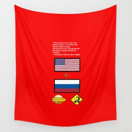 Mexico Wall is new Berlin Wall Wall Tapestry
