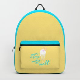 Your LOVE makes me melt / Summer edition Backpack