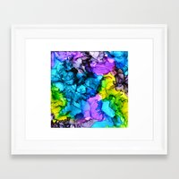 mermaids Framed Art Prints featuring Mermaids by Claire Day