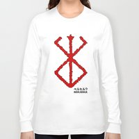 berserk Long Sleeve T-shirts featuring Berserk Sacrifice by Vortha
