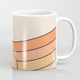 Tangerine Ribbon Coffee Mug