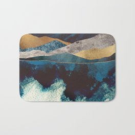 Blue Mountain Reflection Bath Mat