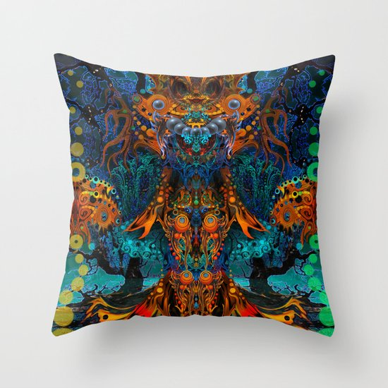 Magic Fairy Throw Pillow