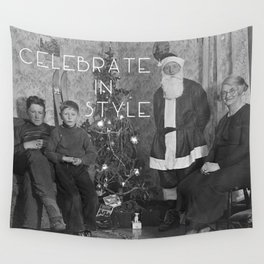 Celebrate in Style Wall Tapestry