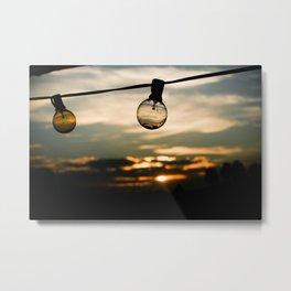 Unlit Sunset.  Metal Print