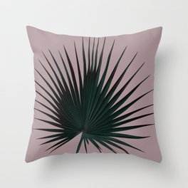 Palm Leaf Edition Throw Pillow