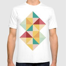 Candy MEDIUM Mens Fitted Tee White