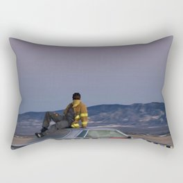 asap rockyy car Rectangular Pillow