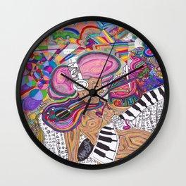 In Tuned  Wall Clock