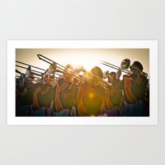 Auburn Flare Art Print