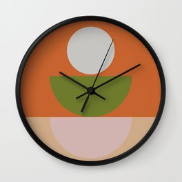 Geometric Shapes #fallwinter #colortrend #decor Wall Clock