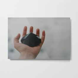 black diamond Metal Print