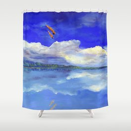 Hijos de la tierra (Sons of Mother Earth) Shower Curtain