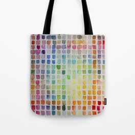 Color Scales Tote Bag