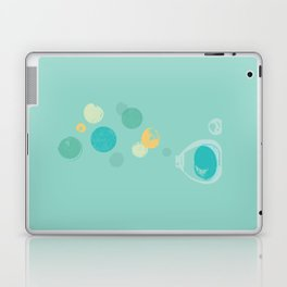 Memories in a Bottle Watercolor Art Laptop & iPad Skin