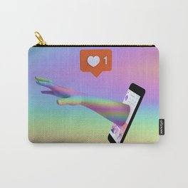 Reaching Out Carry-All Pouch