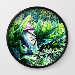 Garden 3 Wall Clock