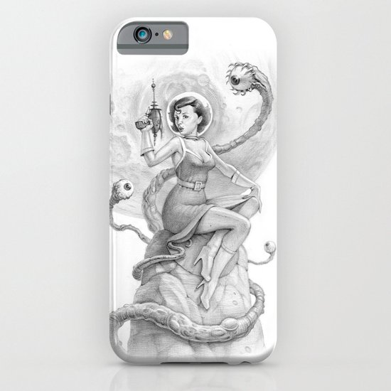 Astro Babe B&W iPhone & iPod Case