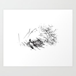 Circles°9 Art Print