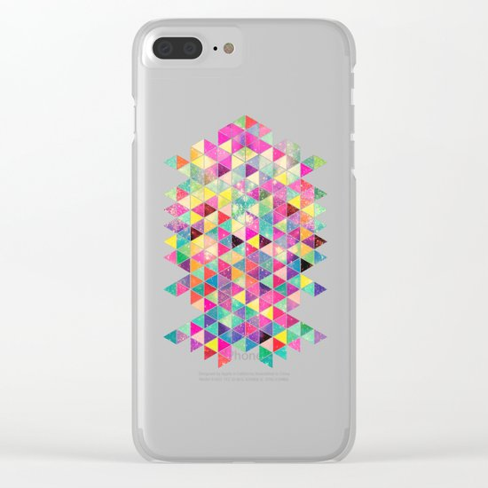 Kick of Freshness Clear iPhone Case