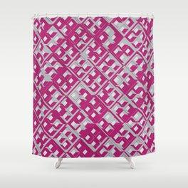 3D DECO BG X.3 Shower Curtain
