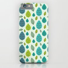 Trees pattern iPhone 6s Slim Case