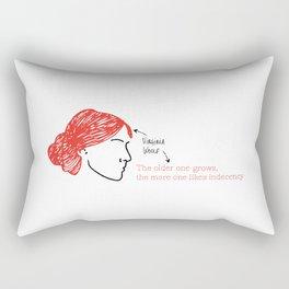 History's Women: Virgina Woolf Rectangular Pillow