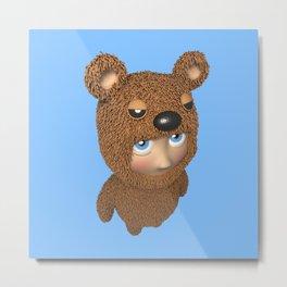 Furry baby Metal Print